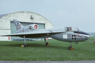 Handley Page H.P 115 model airplane plan