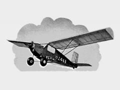 Happy Wanderer model airplane plan