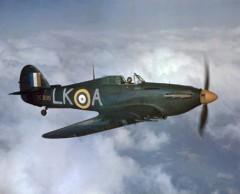 Hawker Hurricane II C model airplane plan
