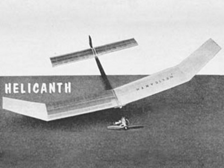 Helicanth model airplane plan