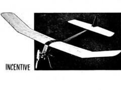 Incentive model airplane plan