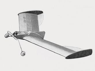 Ionosphere model airplane plan