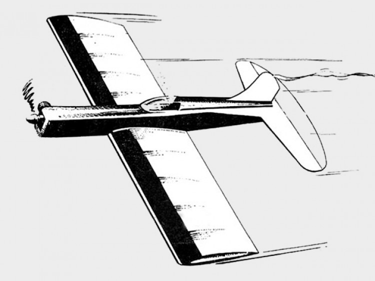 Ker-Mando model airplane plan