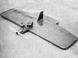 Klipper model airplane plan