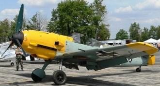 Me 109E model airplane plan