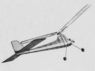Merry Miller model airplane plan