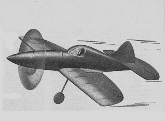 Mighty Mouse model airplane plan