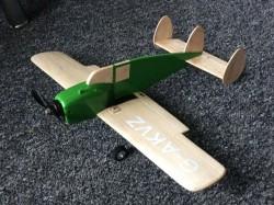 Miles Messenger model airplane plan
