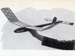Mutant model airplane plan