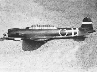 Nakajima Tenzan model airplane plan