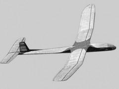 Nordic Faun model airplane plan