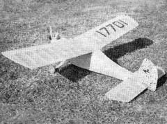 Pika model airplane plan