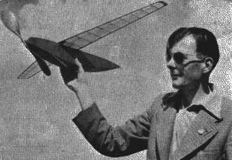 Pipistrelle model airplane plan