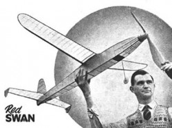 Red Swan model airplane plan