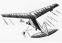Scrambled Egg model airplane plan