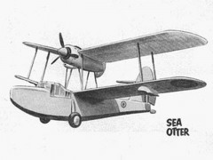 Sea Otter model airplane plan