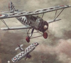 Siskin IIIA model airplane plan