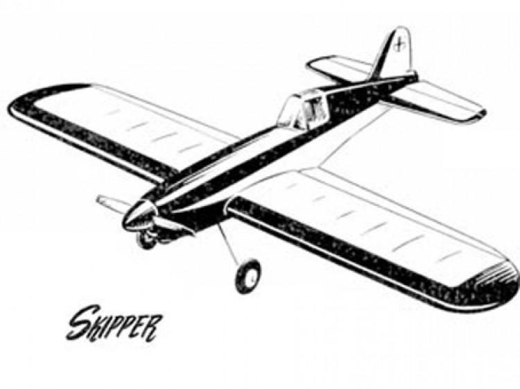 Skipper model airplane plan
