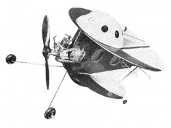 Space Ray model airplane plan