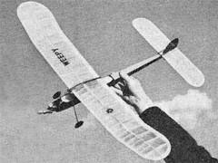 Weepy model airplane plan