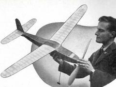 Wild Goose model airplane plan