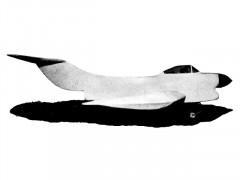 X-120 model airplane plan