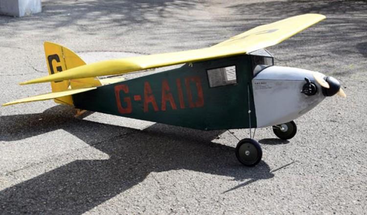 ABC Robin model airplane plan