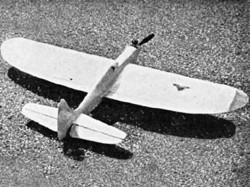 Altagerra model airplane plan