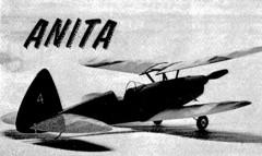 Anita model airplane plan