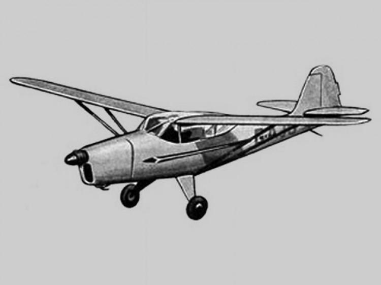 Auster V model airplane plan