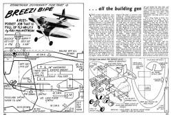 Breezi Bipe model airplane plan