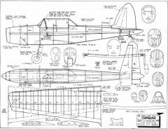 de Havilland Canada DHC-1 Chipmunk model airplane plan