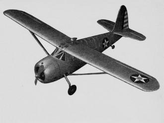 Curtiss Owl model airplane plan