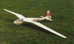 DFS Reiher model airplane plan