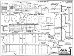 DH9a 2 model airplane plan