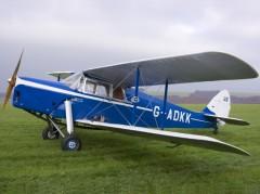 D.H 87B Hornet Moth model airplane plan