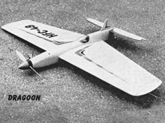 Dragoon model airplane plan
