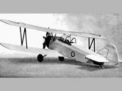 Fleet Finch model airplane plan