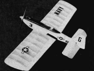 Griffon model airplane plan