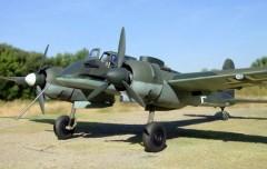 Henschel Hs 129 model airplane plan