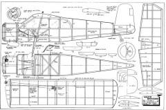 Holste MH.1521 Broussard model airplane plan