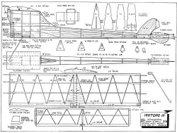 Isotope III model airplane plan