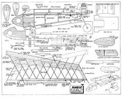 Nimbus 2 model airplane plan