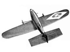 Nurk CL clean model airplane plan