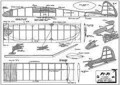Pi-Pi model airplane plan