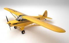 Piper PA18 Super Cub model airplane plan