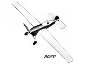 Pluto model airplane plan