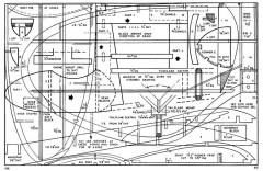 Push-Up Cartoon model airplane plan