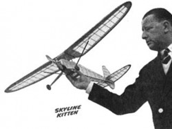 Skyline Kitten model airplane plan