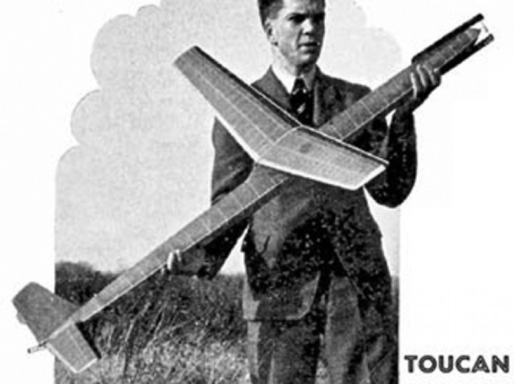 Toucan model airplane plan